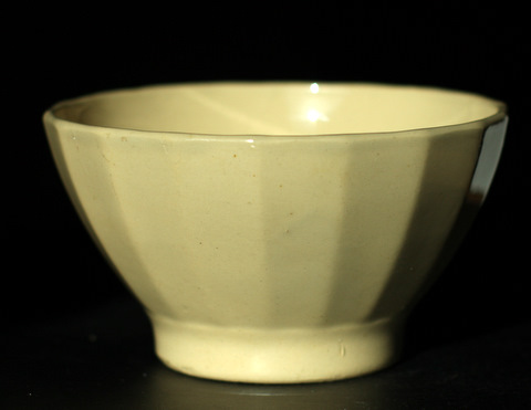 Yellow vintage bowl cafe au lait-2