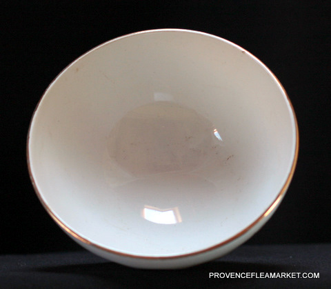 French vintage roses bowl cafe au lait-3