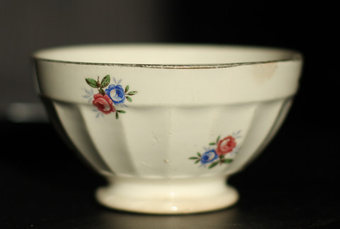 Little floral digoin bowl cafe au lait-0