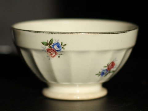 Little floral digoin bowl cafe au lait-1