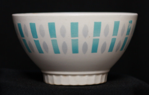 Badonviller geometrical bowl cafe au lait grey and blue-1