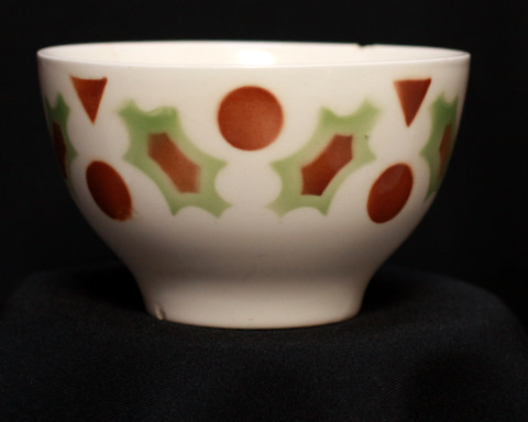 Special pattern bowl cafe au lait-2