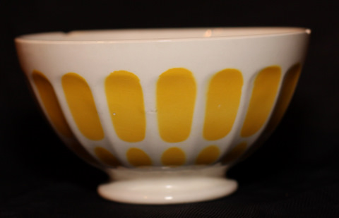 yellow Digoin bowl cafe au lait-1
