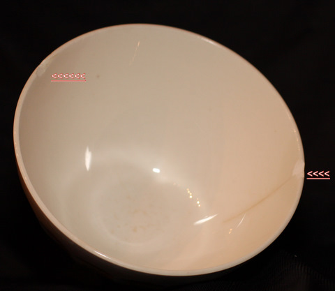 yellow Digoin bowl cafe au lait-3