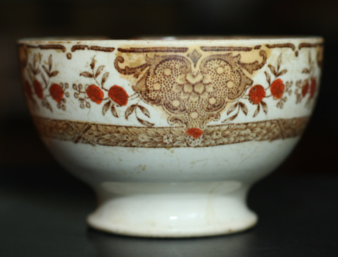 vintage bowl cafe au lait -2