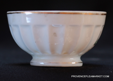 French Napoleon portrait bowl cafe au lait-1