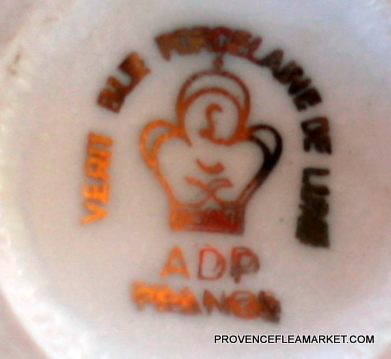 French Napoleon portrait bowl cafe au lait-5