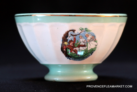 French popular sing bowl cafe au lait 3-1