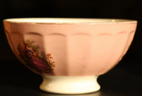 Romantic pink bowl cafe au lait-2